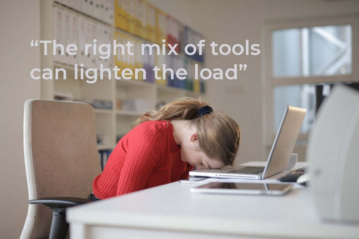 the right mix of digital adoption tools can help training staff
