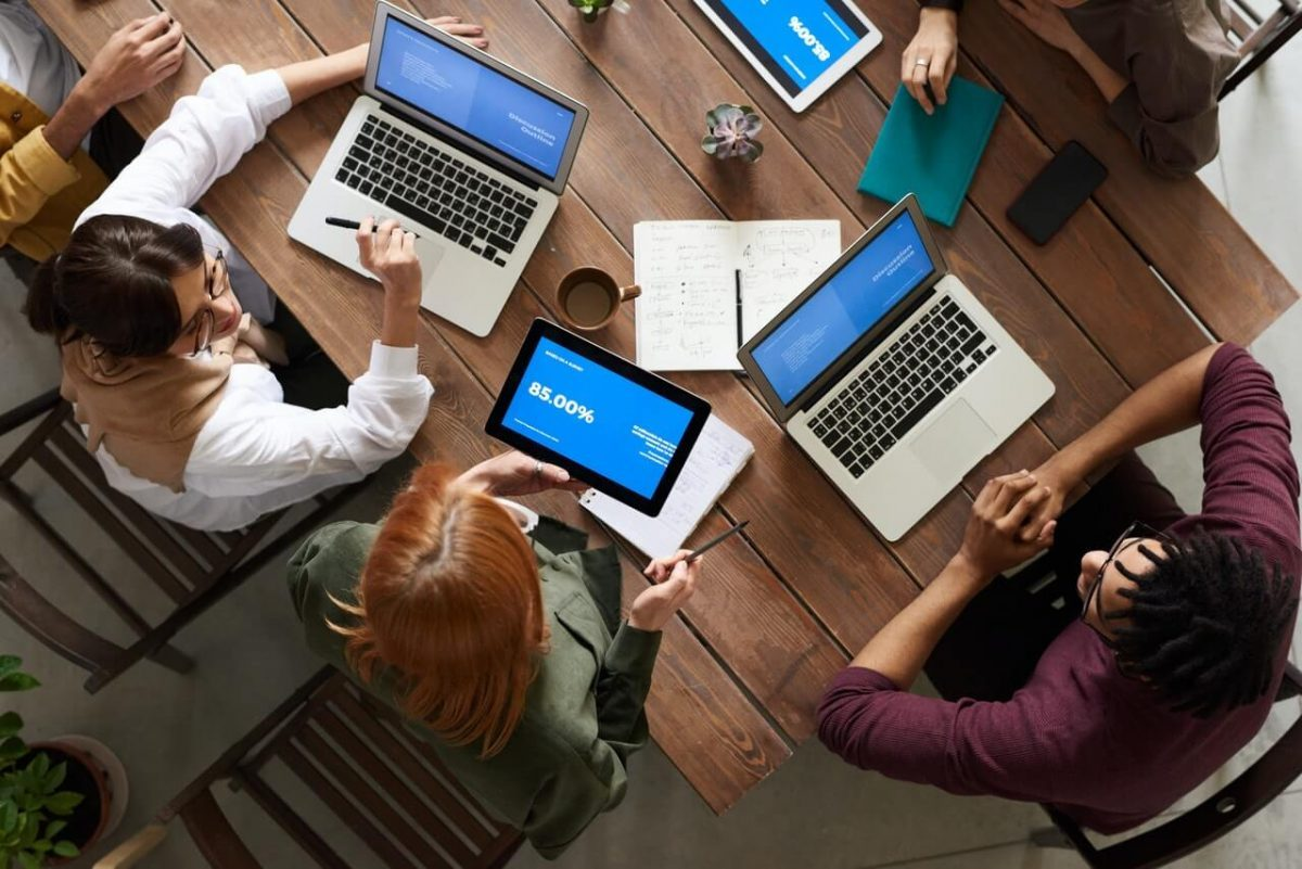 end users train on different business processes