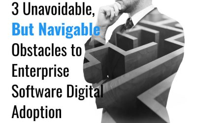 3 Unavoidable – But Navigable – Obstacles to Enterprise Software Digital Adoption