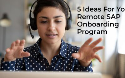 5 Ideas for Building a Remote SAP End User Training and Onboarding Program
